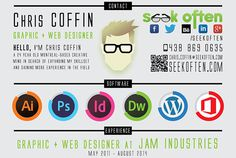 SeekOften Creative CV design