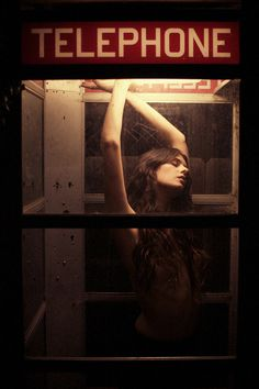 Untitled | Flickr Photo Sharing! #phone #woman #night #anywhere #portrait #booth #lighting