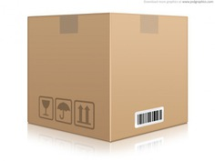 Cardboard box icon (psd) Free Psd. See more inspiration related to Business, Design, Icon, Box, Icons, Brown, Psd, Business icons, Cardboard, Horizontal and Cardboard box on Freepik.