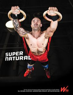 "Wfit ""Super. Natural."" - www.ahabnimry.com #sport #athlete #design #photography #natural #concept #type #style #artdirection"