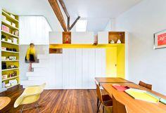 Fashionable Parisian Apartment by SABO Project - #decor, #interior, #homedecor, #furniture,