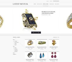 Latest Revival | Hugo & Marie #website #web #ui