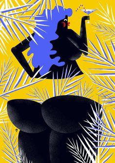 KarolBanach-dinujo-oldskull-09 #illustration