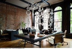 Gothic Office / LINCOLN BARBOUR PHOTO #interior design #photography #lincoln barbour
