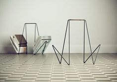 Miss Moss #furniture #wire #minimalist #rack #magazine