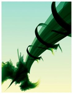 Visions | Part I of II on the Behance Network #abstract #vector #rhino #derek #vision #gangi #green