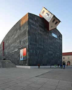 House Attack (Vienna, Austria) #building #architecture #house #interesting