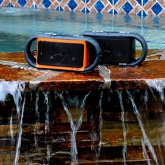 Enjoying music is no longer confined to dry areas, thanks to the stunning set of floating ECOXBT Waterproof Bluetooth Speaker by ECOXGEAR. #tech #flow #gadget #gift #ideas #cool