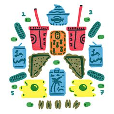 #illustration #food