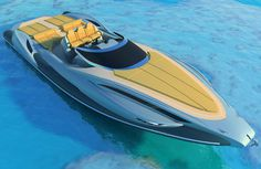 Tender Capri 13m Boat #tech #amazing #modern #design #futuristic #gadget #craft #illustration #industrial #concept #art #cool
