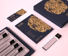 Packaging Design: Classical Music Collection by Valentin Leonida #music #illustration #package #upscale #design