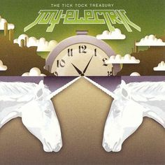 The_Tick_Tock_Treasury.jpeg 600×600 pixels #tick #record #cover #unicorns #tock #clock #treasury