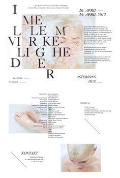>>>>> Imellem Virkeligheder <<<<< #identity #web #typography