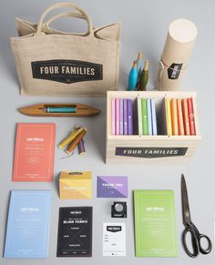 Four Families #stationery
