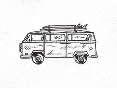 Surf Wagon #illustration