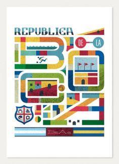 Typeverything.com -Buenos Airesneighborhoods... - Typeverything #poster #typography