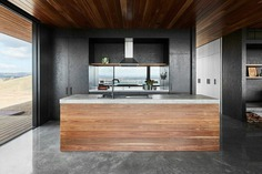 kitchen, Off-Grid Retreat / Ben Callery Architects