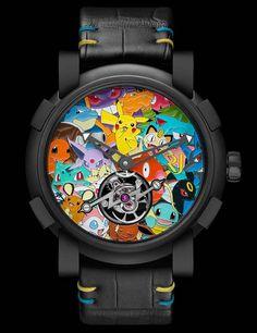 Unique piece: Romain Jerome Tourbillon Pokémon #romainjerome #pokemon #pikachu #tourbillion #unique #craftmanship #luxuryes
