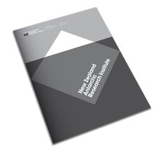 The New Zealand Antarctic Research Institute Logo and Identity #layout #booklet #editorial