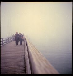 Untitled | Flickr - Photo Sharing! #old #couple #photography #sea #film #love