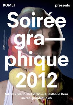 eyebodega:Soirée graphique N° 5Save the date: 20. – 21. October 2012, Kunsthalle Bern HORT, Museum Studio, Hey Ho, Grilli Type, Ju #poster