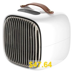 Home #Dormitory #Smart #Mini #Electric #Heater #Portable #Office #Warmer #- #WHITE
