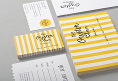 Good design makes me happy: Project Love: The Oyster Inn #identity