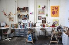 The Inspiring Workspaces Of Pablo Picasso, Ray Eames #interior #office #studio #workspace