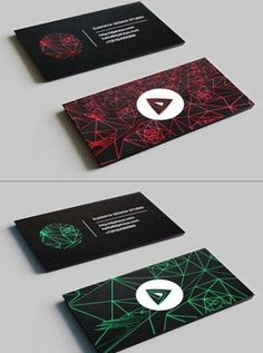 FFFFOUND! | Designspiration — 35 new business cards – Best of january and february 2011 « Blog of Francesco Mugnai #card #design #graphic #black #triangle #bussiness #circle