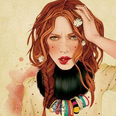 Elodie #illustration