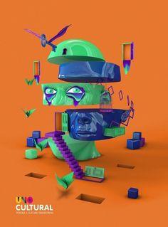 Todos os tamanhos | Unocultural 2012 | Flickr – Compartilhamento de fotos! #estdio #unocultural #design #alice #illustration #poster