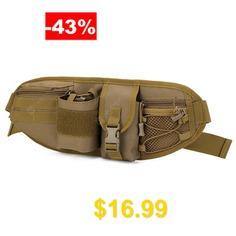 Unisex #Canvas #Personality #Waist #Bag #Fashionable #Design #Practical #Travel #Pack #- #DARK #GOLDENROD