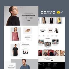 #BRAVO #Fashion #Boutique - #Opencart #MultiPurpose #Responsive #Theme | #TemplateTrip #eCommerce #Website #Templates