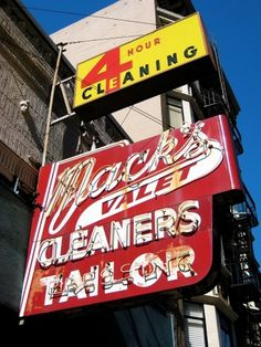 All sizes | Mack's Valet Cleaners, San Francisco, CA | Flickr - Photo Sharing! #sign #neon