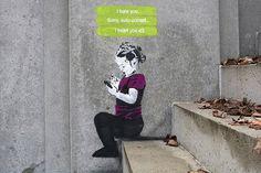 Street Art Shows Social Media Culture Through Graffiti