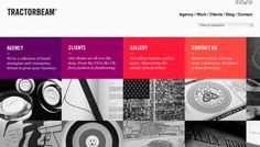Tractorbeam - Web design inspiration from siteInspire #website