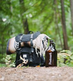 postmark, beer, culture, bottle, camp,outdoors