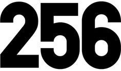 256TM #font
