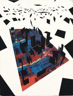 Victor Timofeev #painting #geometric