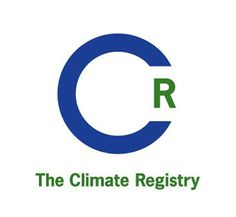 The Climate Registry #brand #logo #climate #letter
