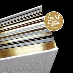 WHITE EDITION LIMITED inkarnation tattoo #inkarnation #tattoo #book #gold