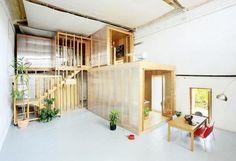 Núria+Salvadó+.+David+Tapias+.+Cine+Lídia.+Riudecols.jpg (JPEG Image, 510x348 pixels) #interior #wood #plants #environment