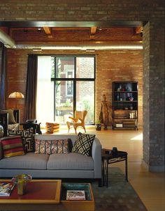 Bucktown Loft in Chicago / Jordan Mozer