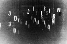 PrettyClever #type #joy division