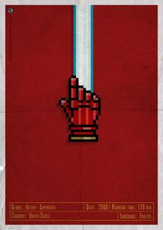 H-and Movie #movie #superhero #and #design #gerald #vintage #poster #web #bear #jarvis #hand #action