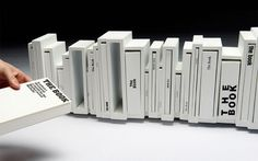 XLII — MEDIUM: EXTRA LARGE #shelf #white #book #books