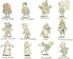 Moleskine Sketches by Mattias Adolfsson | Best Bookmarks #characters #moleskine #sketch