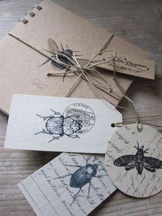 handmade stamps #branding