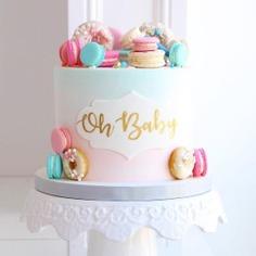 - gender reveal cake,