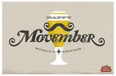 Stella Artois illustration for Movember | Flickr - Photo Sharing!